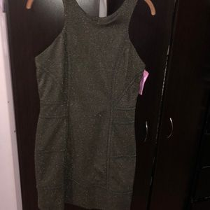 BCBGeneration Gold and Black party dress size M